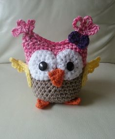 Baby Crochet Owl Pattern by RainbowRidgeCrochet on Etsy, $6.00