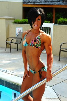 Dana Lynn Bailey! She's Physique, but still. Amazing body!