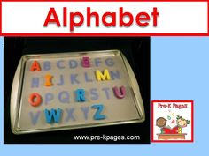 Alphabet ABC ideas to use in your preschool, pre-k, or kindergarten classroom.