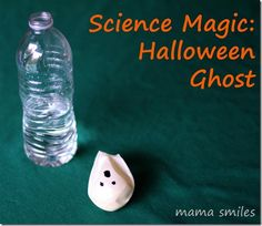 This is such a cute idea! Self-inflating Halloween Ghost!