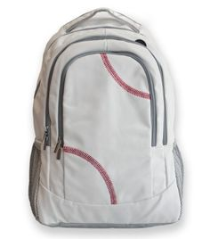 This baseball back pack is created from actual baseball leather. The baseball leather is durable, puncture resistant, and virtually spill proof! If you love baseball, use the only back pack made from actual baseball leather! Perfect for any age, guys or girls, in any environment. Carry it on a plane, take it to school – it's a back pack made from baseball leather!!!