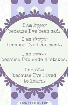 I Am Happier