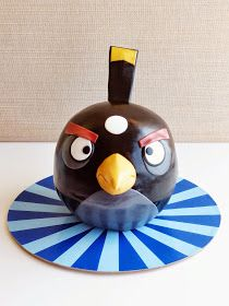 HAVE SOME SUGAR - MARGARIDA ABECASSIS: ANGRY BIRD PRETO