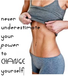 So inspiring. I'm going to look at her tummy every time I want to give up :)