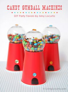 DIY Gum ball Machines