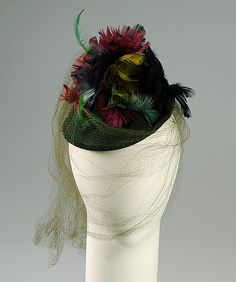 Hat  Sally Victor, 1938  The Metropolitan Museum of Art