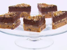 Magic Bars from FoodNetwork.com. Would love to make these with my homemade brownies