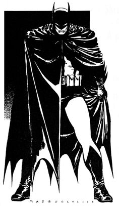 Frank Miller and David Mazzucchilli's Batman: Year One.