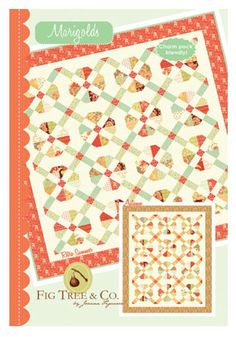 Marigolds Quilt Pattern by Joanna Figueroa of Fig Tree Quilts