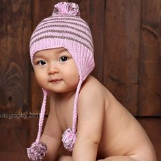 babi registri, cotton ear, ear flap, crochetedknit babi, babyhat babylist, babi hat, flap hat, babi stuff, babylist babi