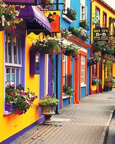 County Cork, Ireland.    Where my family came from! Maybe this is why I like color?