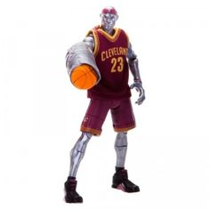 The NBA Heroes action figures bring favorite NBA stars, including LeBron James, off the court to imagine what they'd be like as superheroes.