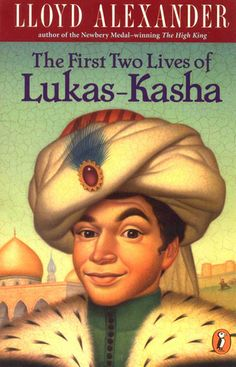 The First Two Lives of Lukas-Kasha by Lloyd Alexander. GREAT book for younger readers.  My son won't give it a chance yet, daunted by the length.  But I remember reading this when I was about 10 and again at 15.  LAUGHED out loud on more than one occasion.  Just a fun adventure.
