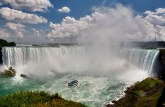 Niagara Falls  #Niagra #Falls #Travel #Vacation #Waterfall