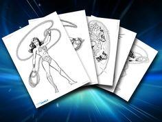 Themed Printables: Wonder Woman | DC Comics