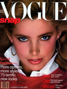 Kelly Emberg  -  Vogue US July 1981