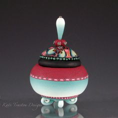 Natasha Polymer Clay Pot by Kate Tracton Designs