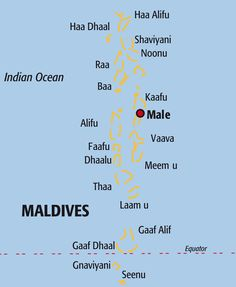 Maldives Islands Location