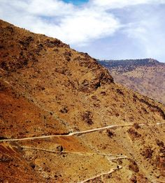 In the Atlas Mountains of Marrakech, Morocco, the long and winding road comes with an unforgettable view.