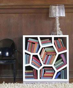 this is a really cool bookshelf!