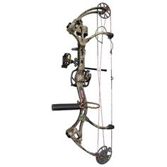 Love the camo w/ pink strings BowViper - Bear Archery Siren RTH Compound Bow Package 40lb - Left Hand A23522274L