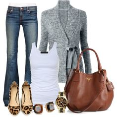 """Casual"" by michellesolinas on Polyvore"