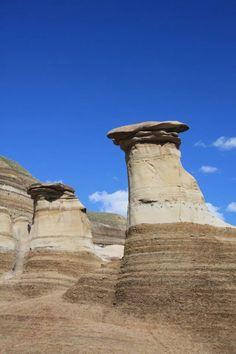Hoodoos in the Alberta Badlands. No link.  A place to see!