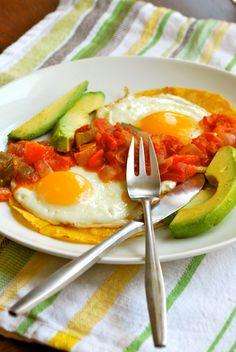 Huevos Rancheros by asweetpeachef #Eggs #Mexican #Huevos_Rancheros #asweetpeachef