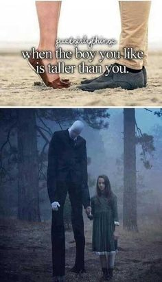 just girly thing parody slenderman tall