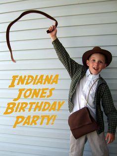 Indiana Jones Birthday Party