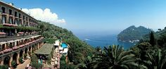 Hotel Splendido, Portofino-September 2012.  What a GRAND hotel