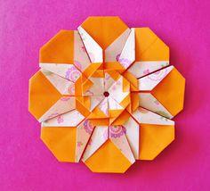 Mandala Serenata em Flor - tutorial