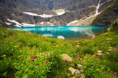 Iceberg Lake, Glacier National Park, Montana (MT), USA  photograph by Jay Patel