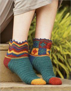 Beaux Jestes Socks - Interweave pattern