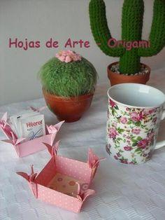Hojas de Arte - ORIGAMI - Cajas-Box-Caixas