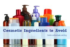 Skincare Saturday: Cosmetic Ingredients to Avoid