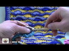Crochet A Blanket - Starting and Finishing Part 2