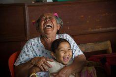 Grandma's laugh is the best