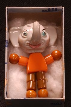 "This teething toy name ""Eppy Elephant"" was manufactured by the Tykie Toy Company in Piqua, Ohio. c. 1944-1952"