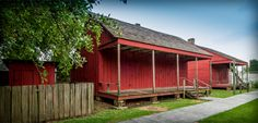 Learn how life changed from Reconstruction through to the Civil Rights by visiting these c.1870 cabins