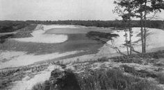 The short tenth at  Pine Valley under construction circa 1913.