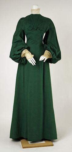 House of Worth, Wool Walking dress, 1902