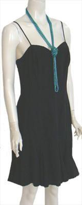 Roberta Black 80s Vintage Dress nwt