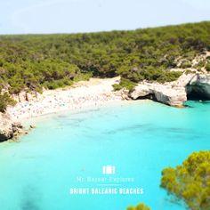 Bright Balearic Beaches