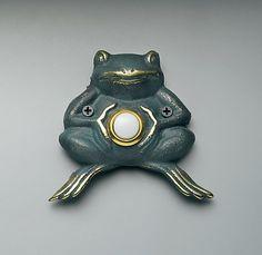 Frog doorbell: .. and a frog doorbell just for fun..