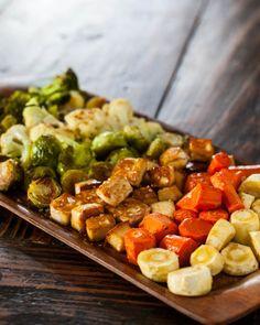 Roasted Tofu and Vegetables