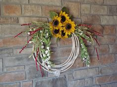 Rope wreath..