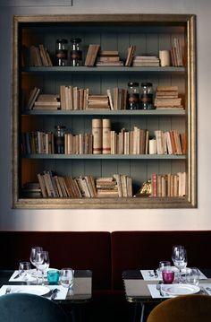 Cafe KAFKA in Barcelona, Spain  published in: Restaurants/Bars By Ricardo Hernandez, 26 January 2012. Yatzer. photo © CAFE KAFKA