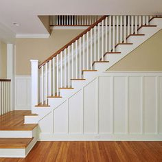 Wainscoting Stairs Design, Pictures, Remodel, Decor and Ideas