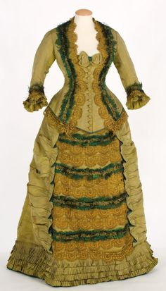 Dress c.1870-1879 From IMATEX